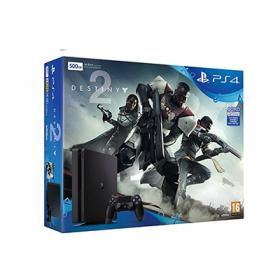 Sony PlayStation 4 (PS4) Slim 500gb plus Destiny 2